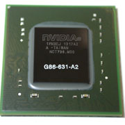G86-631-A2 GPU NVIDIA GeForce 8400M GS