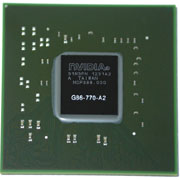 G86-770-A2 GPU NVIDIA GeForce 8600M GS