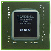 G86-630-A2 GPU NVIDIA GeForce 8400M GS