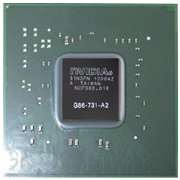G86-731-A2 GPU NVIDIA GeForce 8400M GS