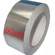 Aluminium Foil Tape 50mm*40m Roll Ideal For Heat Reflection