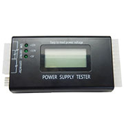 LCD PC Power Supply Tester 20/24 Pin 4 SATA HDD Netzteil Tester Adapter Diagnose