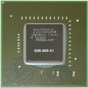 G96-600-A1 GPU NVIDIA GeForce 9600M GS