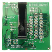 Laptop Notebook 1150 Dummy Loading Board Test Card CPU Socket Tester