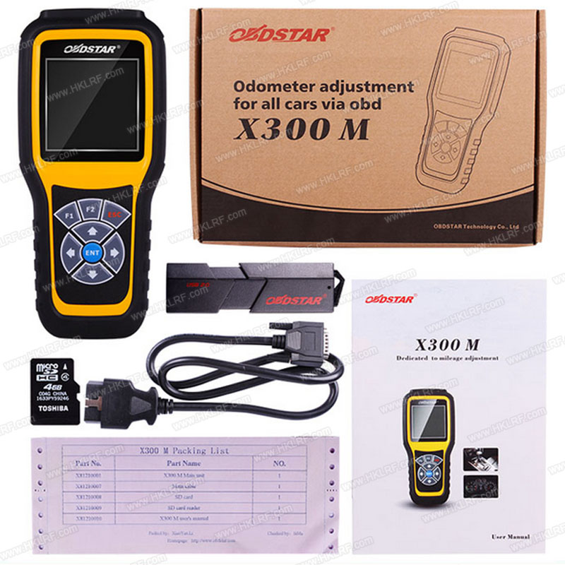 OBDSTAR X300M Special for Odometer Adjustment and OBDII (Can