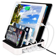 4 Port Multifunctional charging more than USB mobile phone charger Bracket
