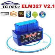 ELM327 OBD2 Code Reader Scanner V2.1 Bluetooth Diagnostic Interface For Android