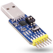 USB CP2102 to TTL RS232 USB TTL to RS485 Mutual Convert 6 in 1 Convert Module