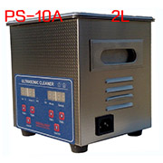 PS-10A Digital Ultrasonic Cleaner Stainless Steel Heater Timer Industrial Grade 2.0L