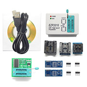 EZP2010 USB Programmer SPI 24 25 93 EEPROM Flash Bios and Adapter Socket
