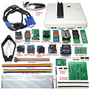 RT809H EMMC-NAND FLASH Programmer + 21 Adapter WITH CABELS EMMC-Nand