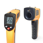 GS320 Non-Contact Laser LCD Display Digital IR Infrared Thermometer Temperature