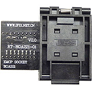RT-BGA221-01 EMMC seat EMMC221 EMMC Adapter For RT809H Programmer
