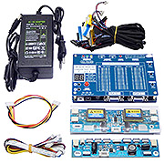 "T-V18 Test Tool for Panel LED LCD Screen Tester Support 7""-84""+Voltage Transformer Board &14 LVDS"