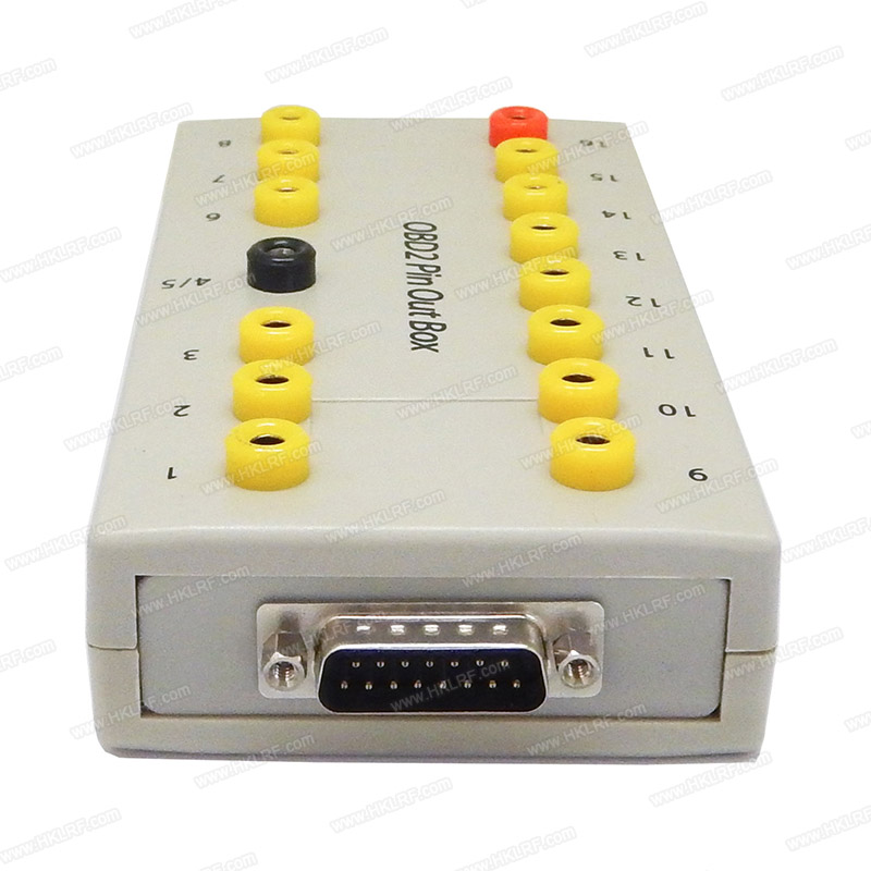 obd2 pin out box breakout box tester obd ii pin connector. Black Bedroom Furniture Sets. Home Design Ideas