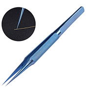 0.15mm Titanium alloy antimagnetization tweezers Straight type