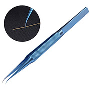 0.15mm Titanium alloy antimagnetization tweezers  Bending type