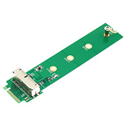 M.2 NGFF M key adapter card for 2013 2014 2015 apple MacBook Air A1465 A1466 SSD