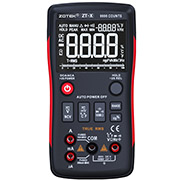 ZOTEK ZT-X true rms Digital Multimeter auto range with NCV DATA HOLD LCD Backligh