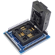 QFP64 to DIP64 CHIP PROGRAMMER SOCKET QFP64-0.5-REV2 Type-U adapter socket