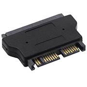 SATA 22 Pin to 16 Pin Micro SATA Adapter 7+15 Serial ATA Female to 7+9 Male