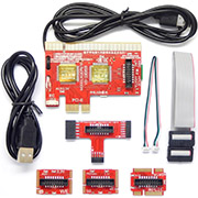 PCI PCIE LPC MiniPCI-E Analyzer Type A Diagnostic Card KQCPET6-V8 for PC Laptop Tester