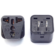 Universal Electricity Travel US Adapter 2PIN Plug to Universal Outlet Converter