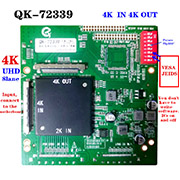 QK-72339 LCD TV original machine changed into inverted screen / partition adapter board 3840*2160 supports all 4K screens