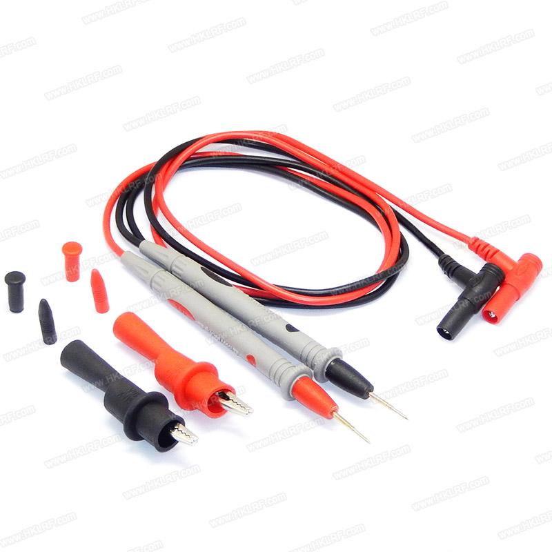 A Pair 20A Universal Multimeter Test Lead Probes Multi Meter Wire Pen Cable Hot