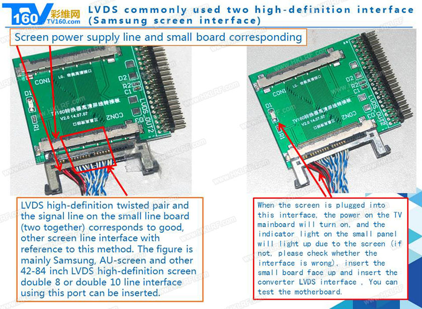TV160 mainboard tester tool 7th generation Vbyone & LVDS-to-HDMI